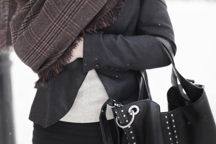 dodatki torebka husta zima