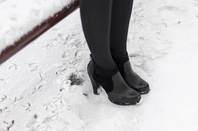 zima buty śnieg winter snow shoes