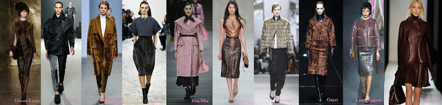 catwalk fashion leather winter inspiration
