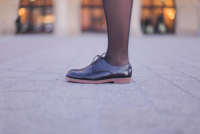 buty miejskie czarne