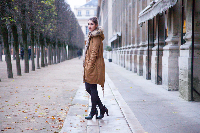 parka paris girl street wear
