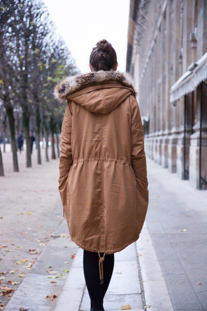 parka woman street wear