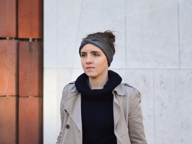 merino wool tenderside headband wełna