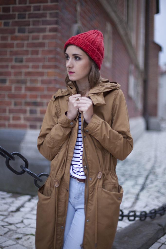 Tenderside czapka parka street style wear