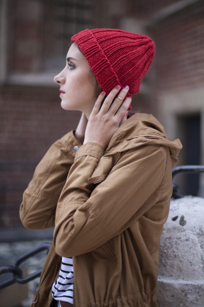 Tenderside beanie parka street wear girl