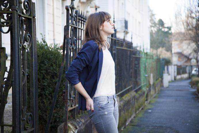 jacket elegant woman timeless style