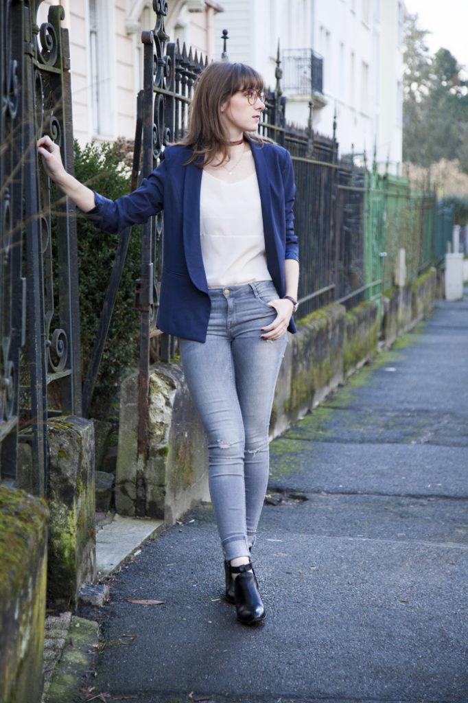 jeans tuxedo elegant