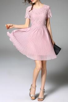 Sukienka-wesele-pastele-plisy