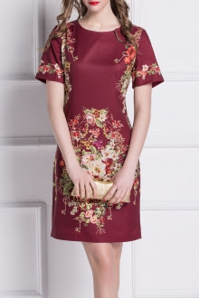 orientalny-wzór-sukienka-elegancja