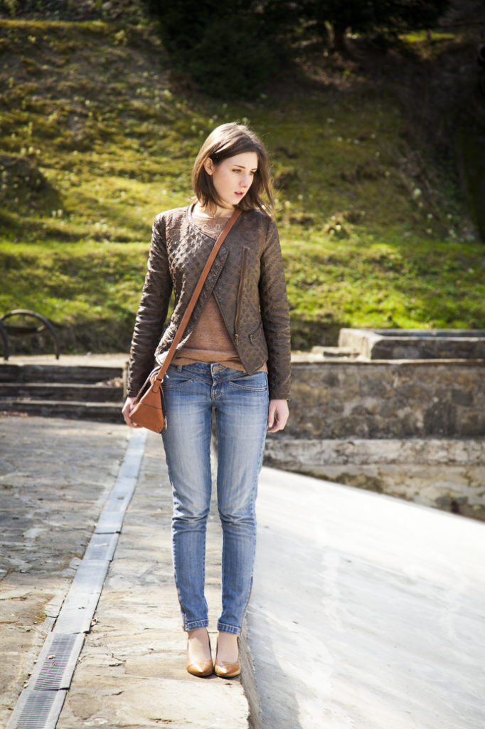 spring jeans woman style