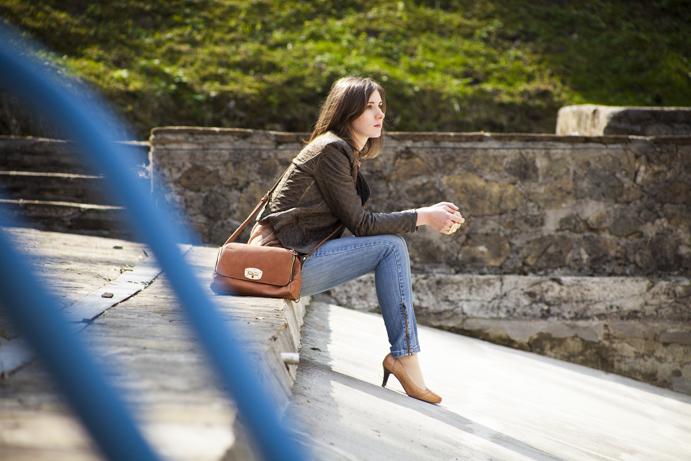 powrót do blogowania jeans wiosna spring girl