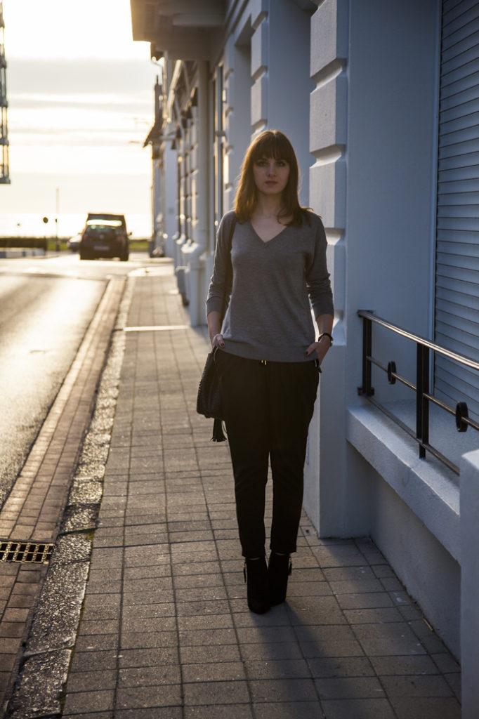 classic outfit idea minimal chic elegant