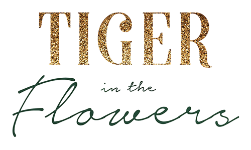 Tiger in the Flowers