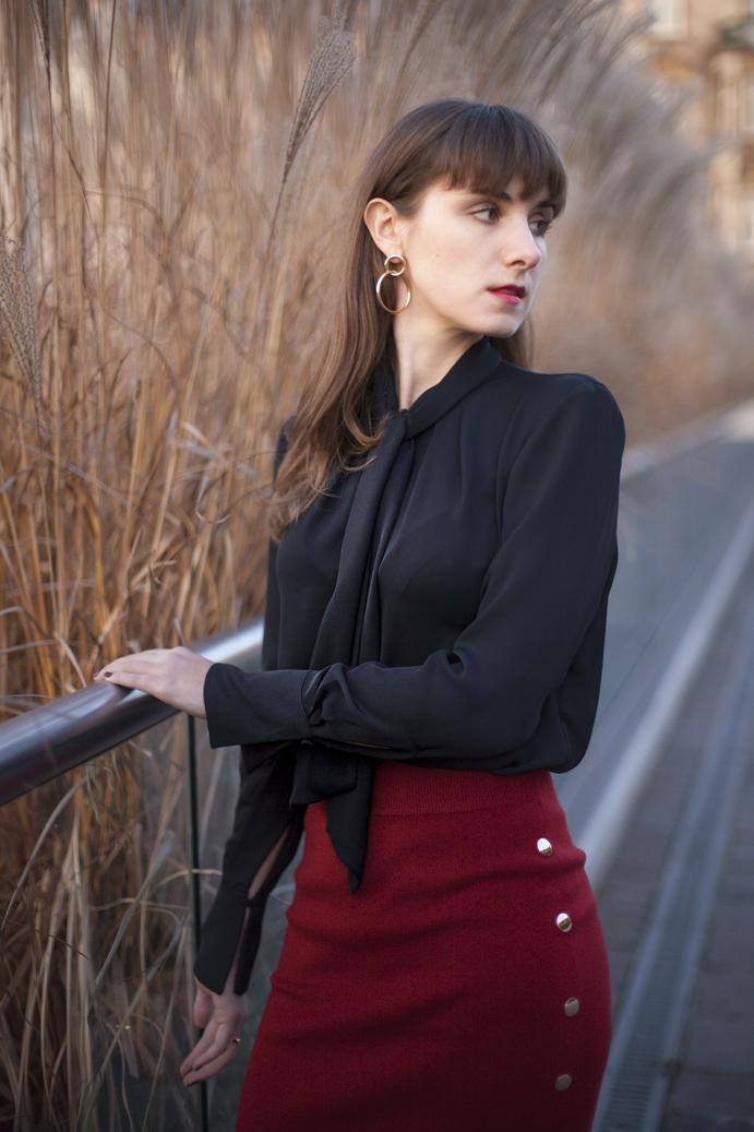 elegancki strój kobiecy