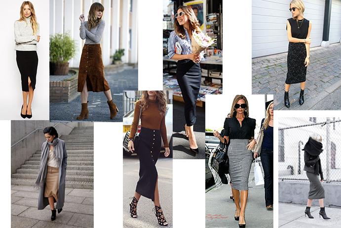 midi skirt example